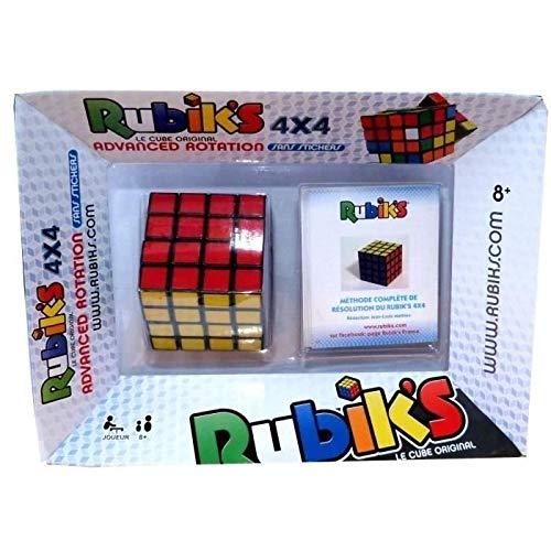 Rubik's Cube | Le puzzle 4x4 original de correspondance de couleurs, un cube classique de résolution de problème, avec son Guide de poche