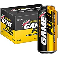 12-Pack Mountain Dew Game Fuel Charged Tropical Strike 16 Fl Oz. Cans
