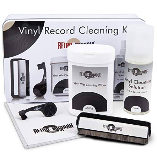 Retro Musique Vinyl Record Cleaner Kit - Everything You Need...