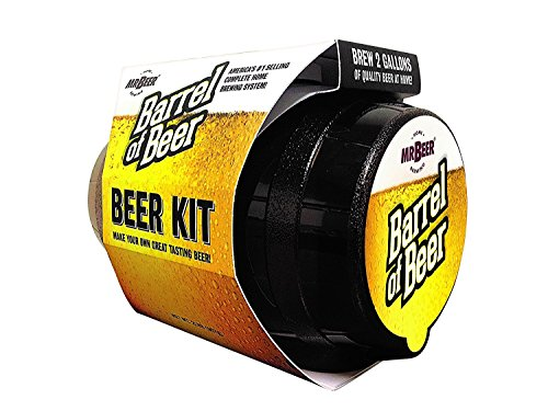 Mr. Beer Barrel of Beer kit makes 2 gallons of quality beer at home!