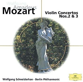 Mozart: Violin Concertos Nos. 2 & 3; Adagio KV261; Rondos KV269 & 373