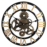 Winni43Julian 58cm Orologio da Parete Grande Vintage -...