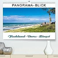Panorama-Blick Fischland-Darss-Zingst (Premium, hochwertiger DIN A2 Wandkalender 2022, Kunstdruck in Hochglanz): Panorama-Ansichten von der Inselkette Fischland-Darss-Zingst (Monatskalender, 14 Seiten )