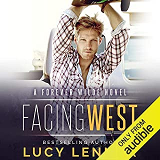 Facing West audiobook cover art