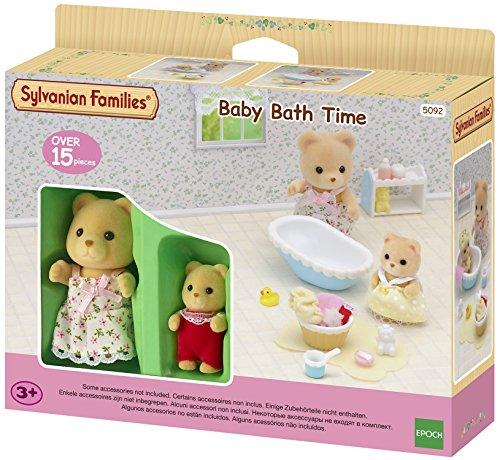 Sylvanian Families 5092 Baden met moeder en baby, meerkleurig