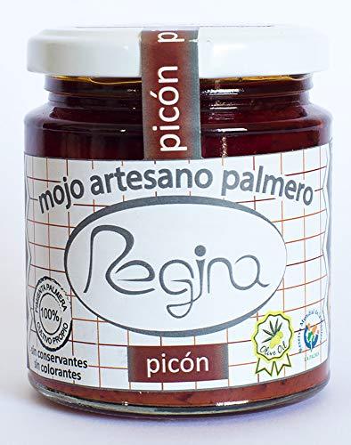 Mojo Rojo Artesano REGINA Picón 250 ml. Producto Islas Canarias.