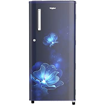 Whirlpool 190 L 4 Star Inverter Direct-Cool Single Door Refrigerator (WDE 205 PRM 4S INV, Sapphire Radiance, Inverter Compressor)