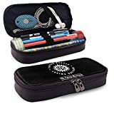 Supernatural Saving People Hunting Things Leather Pencil Case Durable Stationery Pouch School Office Organizer Makeup Bag