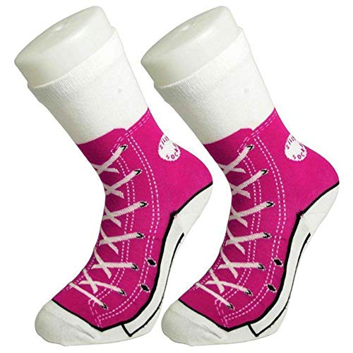 Bluw Silly Sock Baseball Boots (Pink)