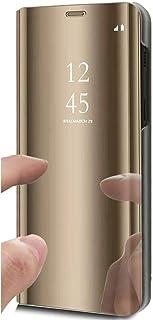 CAXPRO/® Leder H/ülle f/ür Huawei Y6 2019 Kratzfestes Tasche Huawei Y6 2019 PU Leder Flip Handyh/ülle Schutzh/ülle mit Kartenfach und Standfunktion Braun