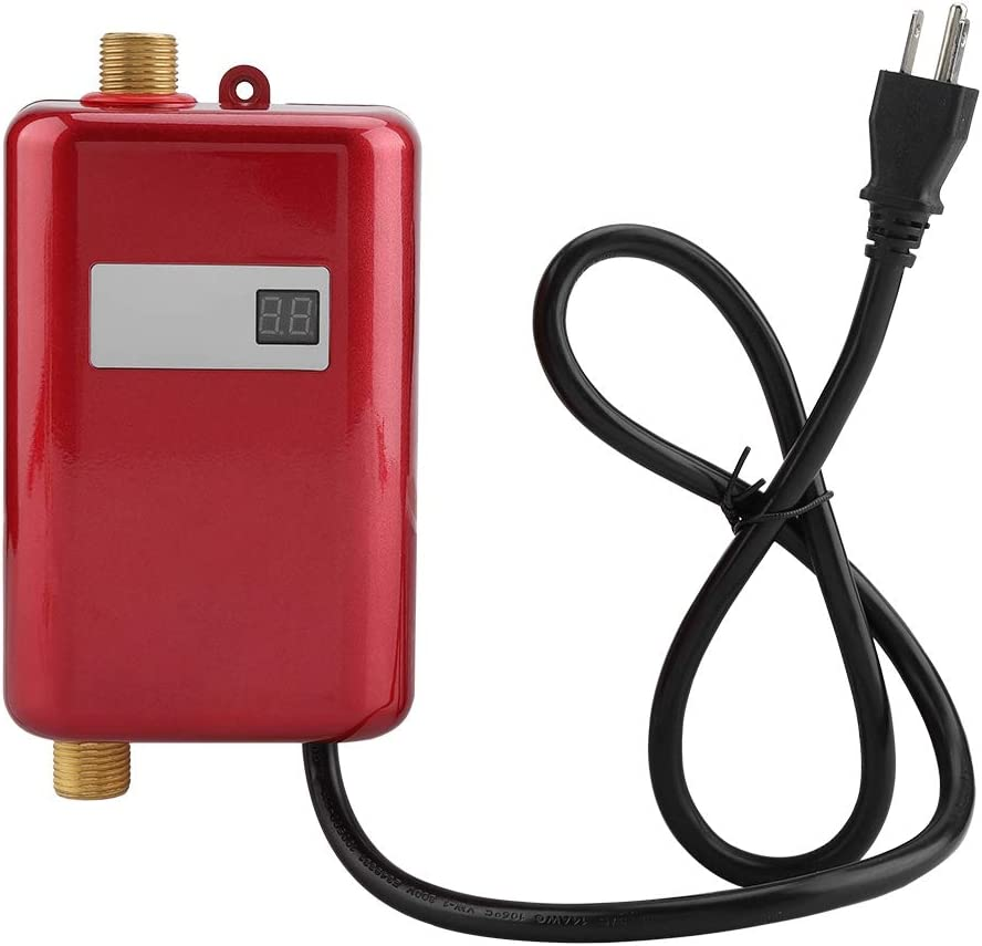 Electric Ranking TOP19 specialty shop Tankless Water Heater 110V Mini Hot Instant Wate 3000W