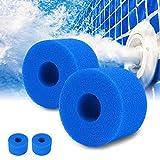 Pppby - Esponja de espuma para filtro de piscina (4 unidades) para Intex tipo S1, filtro de esponja para spa puro tipo S1, filtro reutilizable para piscina tipo limpiador de filtro para Intex S1 tipo