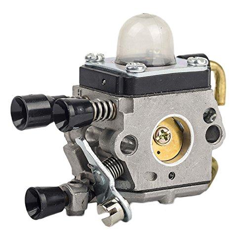 OxoxO Aftermarket Vergaser Carb Passend für Stihl FS38 FS45 FS46 FS55 FS75 FS75 FS76 FS80 FS85 Trimmer