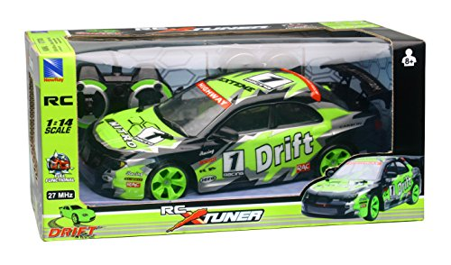 NewRay- 1:14 RC Drifting Car with Lights, 88253SS