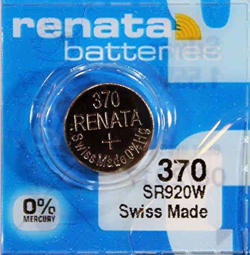 Renata - Pile bouton oxyde argent 370 RENATA 1.55V 40mAh - Blister(s) x 1