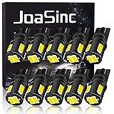JoaSinc Ampoule W5W LED T10 501 194 168 LED de Voiture Lampe 6SMD 5630 LED Ampoules pour Lumière Dôme Côté Carte Feux de Plaque d'immatriculation 12V 10PCS