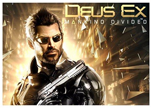 Instabuy Posters Jensen Deus Ex Mankind Divided (B) - A3 (42x30 cm)