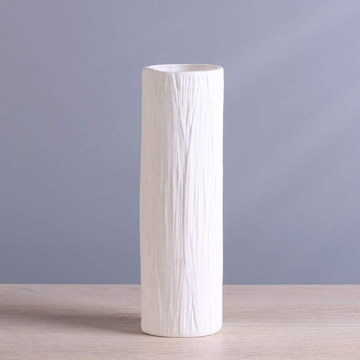 信念スイング原油棚, 花用ホワイトセラミッククラフト花瓶、結婚式用の手作り磁器水耕植物花瓶植木鉢