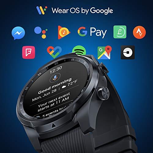 Ticwatch Pro 4G/LTE, Reloj Inteligente de Doble Pantalla, Seguimiento del sueño, batería de Larga duración, 4G/LTE sólo Disponible en EE. UU.