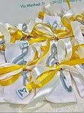 Bomboniera Matrimonio apribottiglia a Chiave di Violino Ideale Anche per anniversari, comunioni e cresime