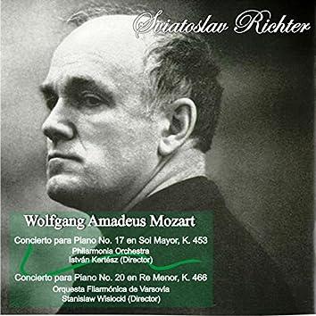 Wolfgang Amadeus Mozart: Concierto para Piano No. 17 en Sol Mayor, K. 453 - Concierto para Piano No. 20 en Re Menor, K. 466