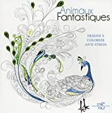Animaux fantastiques - Dessins à colorier anti-stress