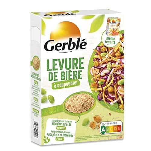 Gerblé Saupoudrage, Levure diététique à saupoudrer, Super-aliment, Source naturelle de protéines, Riche en Vitamine B1, B2 et B9, 1...