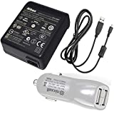 Nikon replacement EH-68P adapter charger & UC-E6 cable for Coolpix S3000 S4000 S6000 S640 S70 S80 S8000 S8100 P100 digital cameras