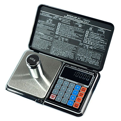 Horizon 500g by 0.01g Multifunctional Price Calculating Digital Precision Scale
