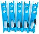 Fox Matrix Pole Winders - 5 Wickelbrettchen für Vorfächer, Aufwickler für Stippmontagen & Feedermontagen, Vorfachspulen für Rigs, Länge:13cm