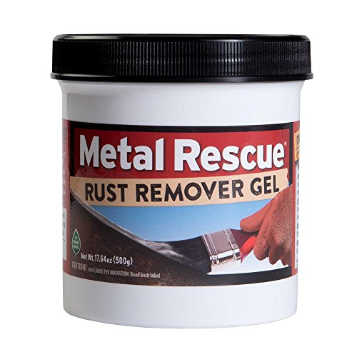 Workshop Hero WH003227 Metal Rescue Rust Remover Gel, 17.64 fl. oz, 1 Pack