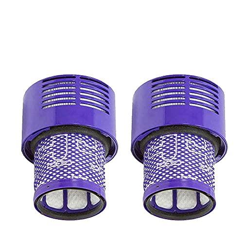HNTYY Filtro Lavable Unidad HEPA Ajuste para Dyson V10 SV12 Cyclone Animal Absolute Total Limpio Casero de Aspirador Filtros Accesorios Accesorios Piezas de aspiradora (Color : 2Pcs)