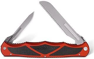 Hydra Double Blade, Brick Red Aluminum Handle w/Case [XTC-HYDBRBS - Havalon Knives]