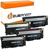 Bubprint - 4 Toner compatibile per Samsung CLT-P404C/ELS CLT-404S per Xpress C430 C430W C480 C480FN C480FW C480W