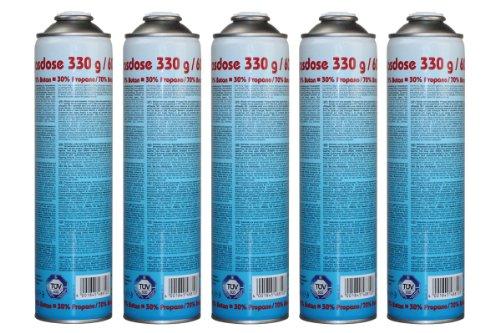 CFH Druckgasdose 330g / 600ml - EN 417 - 5 Stück