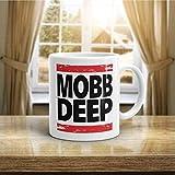N\A Mobb Deep Coffee Mug Vintage Old School Hiphop Collection 1990 Souvenir Stile Rap