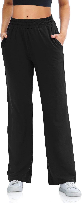 Sarin Mathews Womens Wide Raleigh Mall Leg Loung Pants Sweatpants Indianapolis Mall Comfy Loose