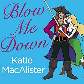 Blow Me Down audiobook cover art