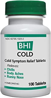 BHI Cold Sysmpton Relief Tablets, 100 Count