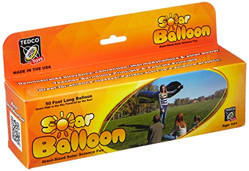 TEDCO Tedcotoys Kids Activity 50-Foot Solar Balloon