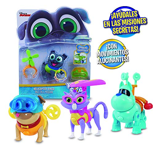 B&R Blister Figuras Light Up Pals On A Mission - 4 Modelos surtidos (Giochi Preziosi PUY05000)