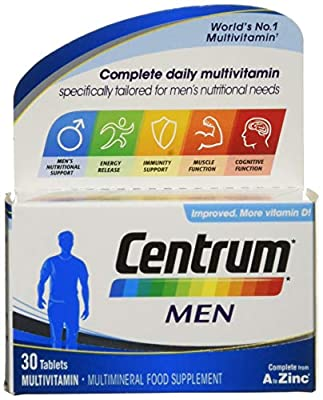 Centrum Men Multivitamin (30 Tablets)