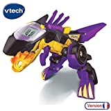 VTECH- Switch & GO Dinos-BRUTOR Voiture/Dinosaure, 80-195205, Multicolore (Version Française)