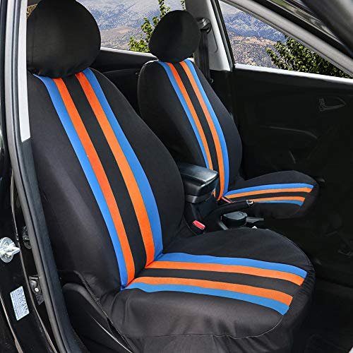 Chemu Auto Sitzbezug Set Auto Zubehör Fahrzeug Stuhl Protector Fall 2 Stücke Für Space Star ASX Outlander Carisma l200