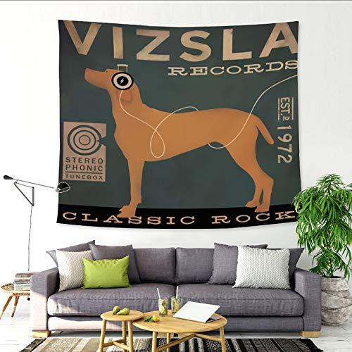 Neujahr Haustier Welpen Wandteppich Wandbehang Stoff hängen Malerei Wanddekoration Home Decoration für Schlafzimmer Wohnzimmer