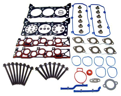 DNJ HGB4129 Head Gasket Set with Head Bolt Kit For 2005-2008 for Ford F-150 4.2L...