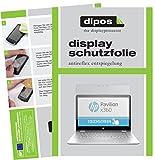 dipos I 2X Schutzfolie matt kompatibel mit HP Pavilion x360 14 ba035ng Folie Bildschirmschutzfolie