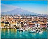Catania Sizilien Italien Malen nach Zahlen Kits für