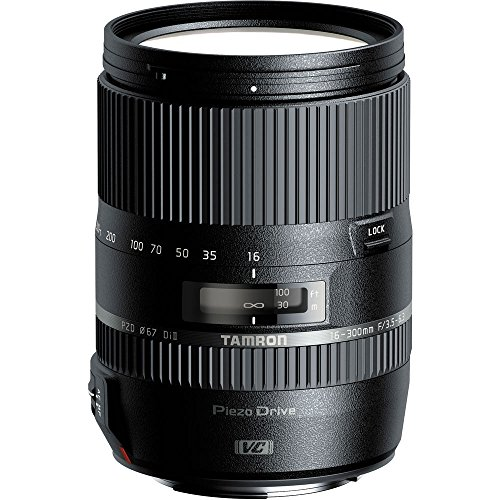 Tamron 16–300mm f/3.5–6.3Di II VC PZD objetivo Macro para cámaras Nikon (afb016N-700)–(Certificado Reformado)