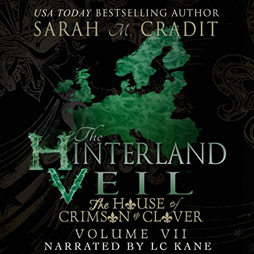 The Hinterland Veil audiobook cover art